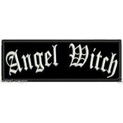 Angel Witch Embroidered Patch