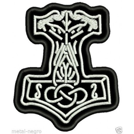 Thor's hammer symbol Embroidered Patch