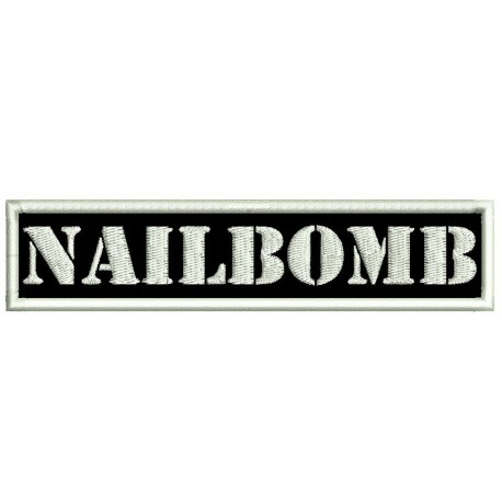 Nailbomb Embroidered Patch