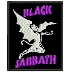 Black Sabbath II Embroidered Patch