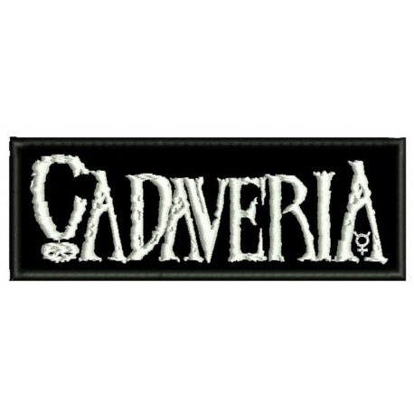 Cadaveria Embroidered Patch