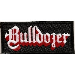 Bulldozer Embroidered Patch