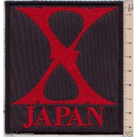 Xjapan Embroidered Patch