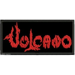 Vulcano Embroidered Patch