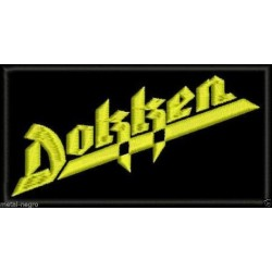 Dokken Embroidered Patch