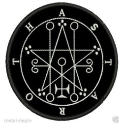 Sigil of Astaroth Embroidered Patch