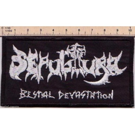 sepultura Embroidered Patch