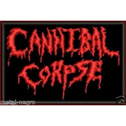 Cannibal Corpse Embroidered Patch