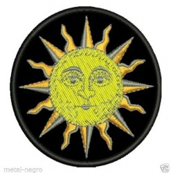 sun astrology zodiac Embroidered Patch