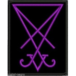 Sigil Seal of Lucifer Embroidered Patch
