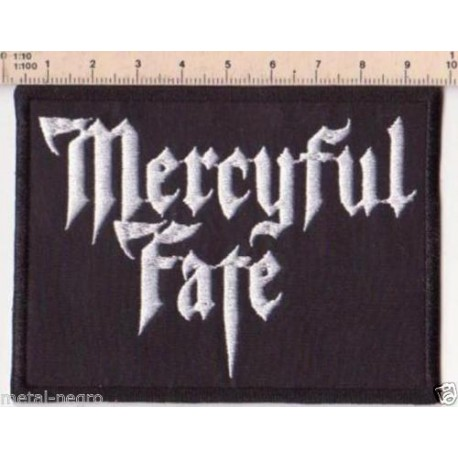 MERCYFUL FATE EMBROIDERED PATCH RED TRIPLE GODDESS STROPHOLOS Metal Negro