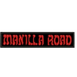 Manilla Road patch Embroidered Patch