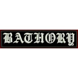 Bathory logo patch Embroidered Patch