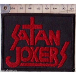 Satan Jokers patch Embroidered Patch
