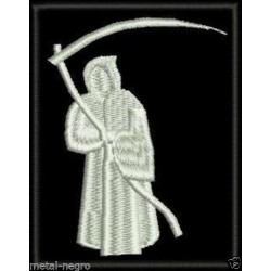Santa Muerte Grim Reaper patch Embroidered Patch