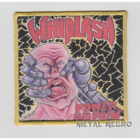 Whiplash power and pain printed Patch