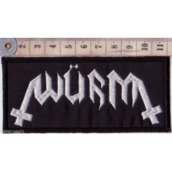 Würm embroidered sew on Patch