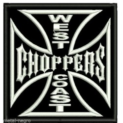 West Coast Choppers sew on embroidered Patch