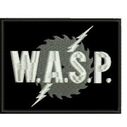 Wasp W.A.S.P sew on embroidered Patch
