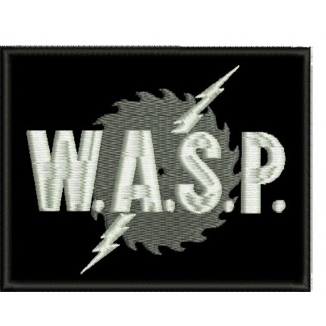 Wasp sew on embroidered Patch
