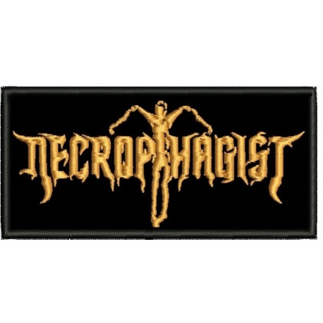 Necrophagist Embroidered Patch