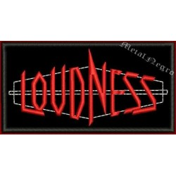 Loudness embroidered patch