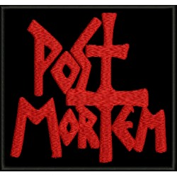 Post Mortem Embroidered Patch