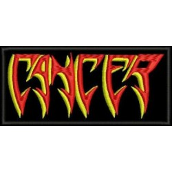 Cancer embroidered patch