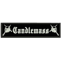 Candlemass sew on embroidered Patch sod