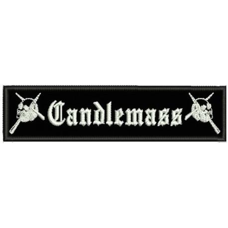 Candlemass sew on embroidered Patch