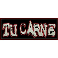 Tu Carne embroidered patch