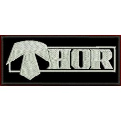 Thor embroidered patch