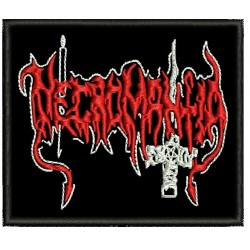 Necromantia Embroidered Patch
