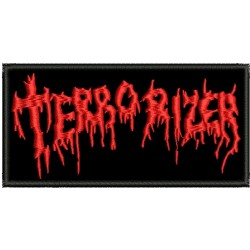 Terrorizer embroidered patch
