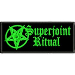 Superjoint ritual embroidered patch