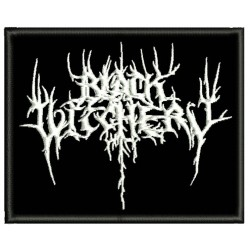 Black Witchery Embroidered Patch