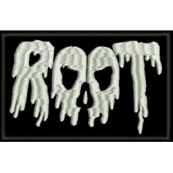 Root Embroidered Patch