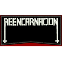 Reencarnacion Embroidered Patch