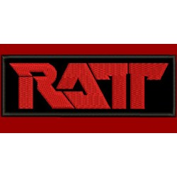 Ratt Embroidered Patch