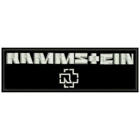 Rammstein Embroidered Patch