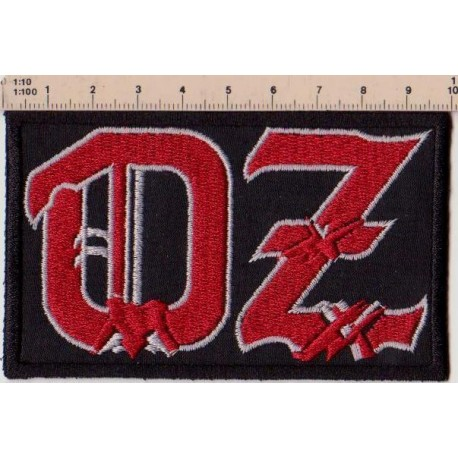 Oz Embroidered Patch