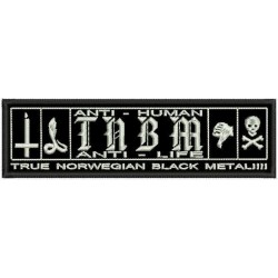 True Norwegian Black Metal Taake embroidered Patch