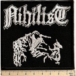 Nihilist embroidered Patch