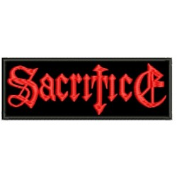 SACRIFICE embroidered Patch