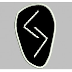 Rune Jera embroidered Patch