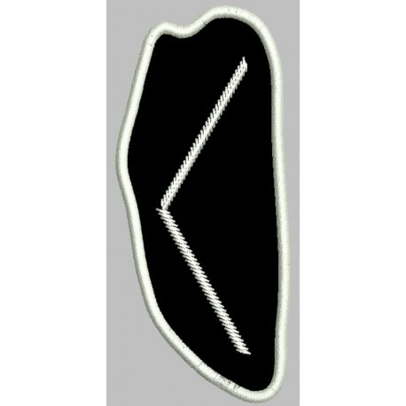 Rune Kenaz embroidered Patch