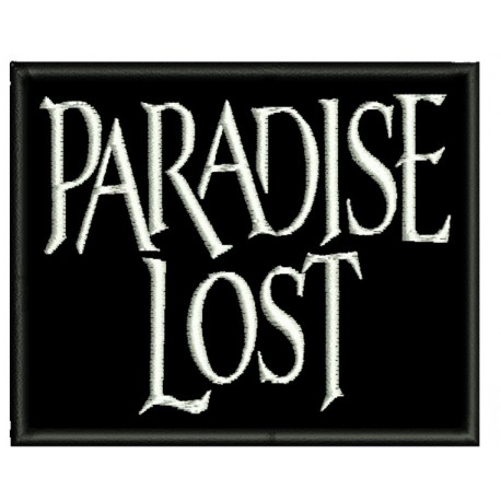 paradise lost embroidered Patch