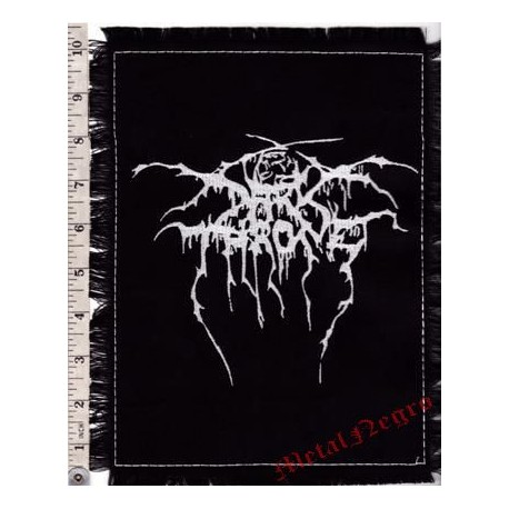 DarkThrone Embroidered Back Patch
