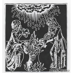 Witchcraft Sabbath Witches Embroidered Back Patch
