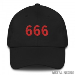 666 Embroidered Cap